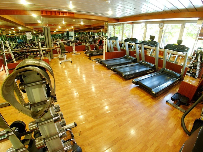 Gym arabian courtyard hotel & spa bur dubaï