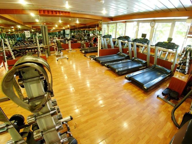 Gym Arabian Courtyard Hotel & Spa Bur Dubaï