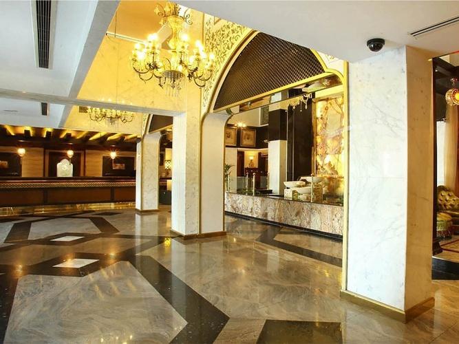Lobby arabian courtyard hotel & spa bur dubaï