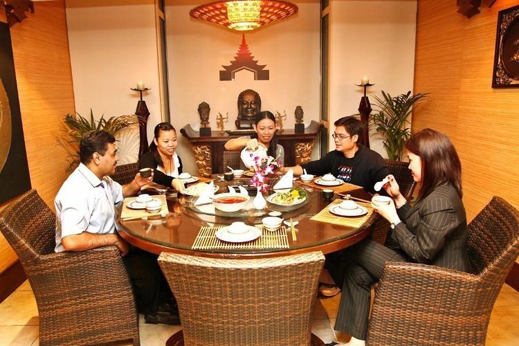 Restaurant chinois et thaïlandais silk route arabian courtyard hotel & spa bur dubaï