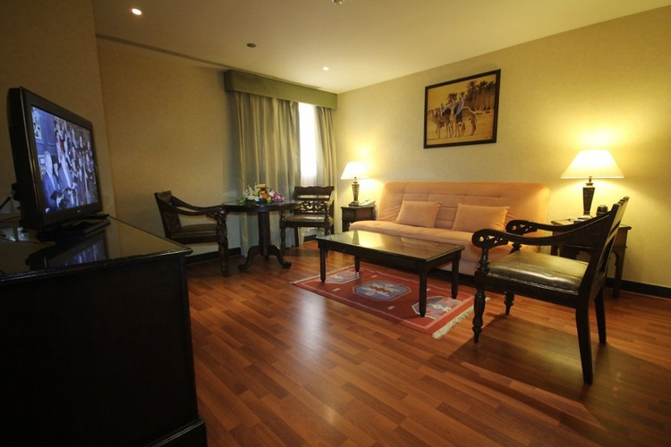 Suites familiales arabian courtyard hotel & spa bur dubaï