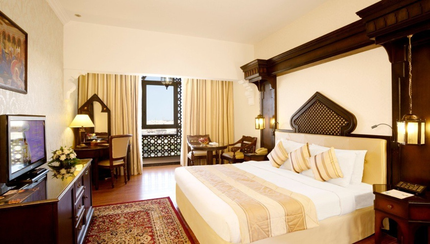 Chambre exécutive arabian courtyard hotel & spa bur dubaï