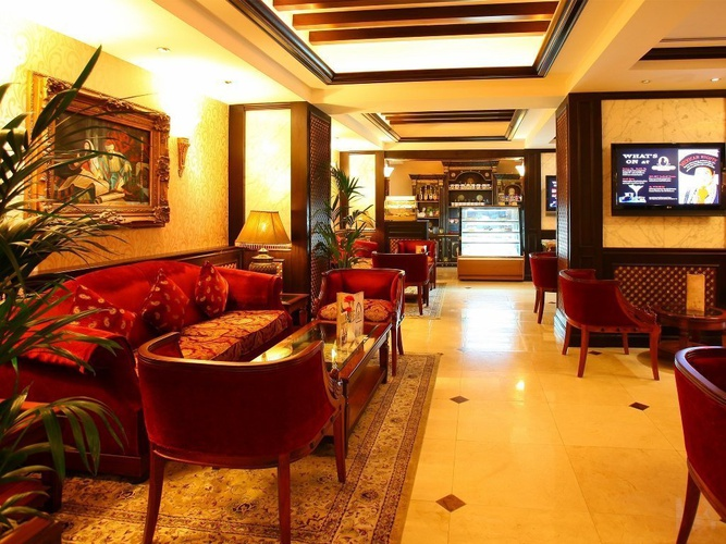 Ahlan lounge arabian courtyard hotel & spa bur dubaï
