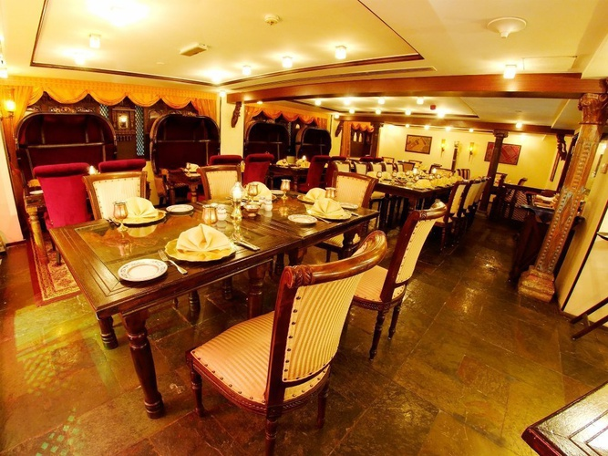 Mumtaz mahal restaurant arabian courtyard hotel & spa bur dubaï