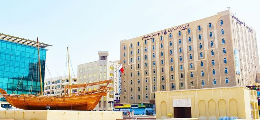 Services update arabian courtyard hotel & spa bur dubaï