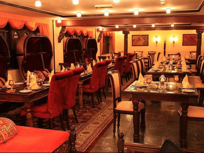 Restaurant arabian courtyard hotel & spa bur dubaï