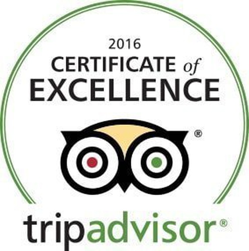 Trip Advisor Certificate of Excellence 2016 Arabian Courtyard Hotel & Spa Bur Dubaï