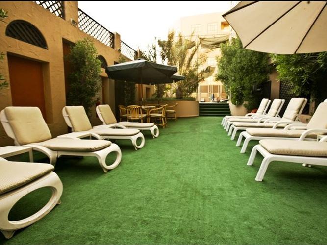 Extérieur arabian courtyard hotel & spa bur dubaï