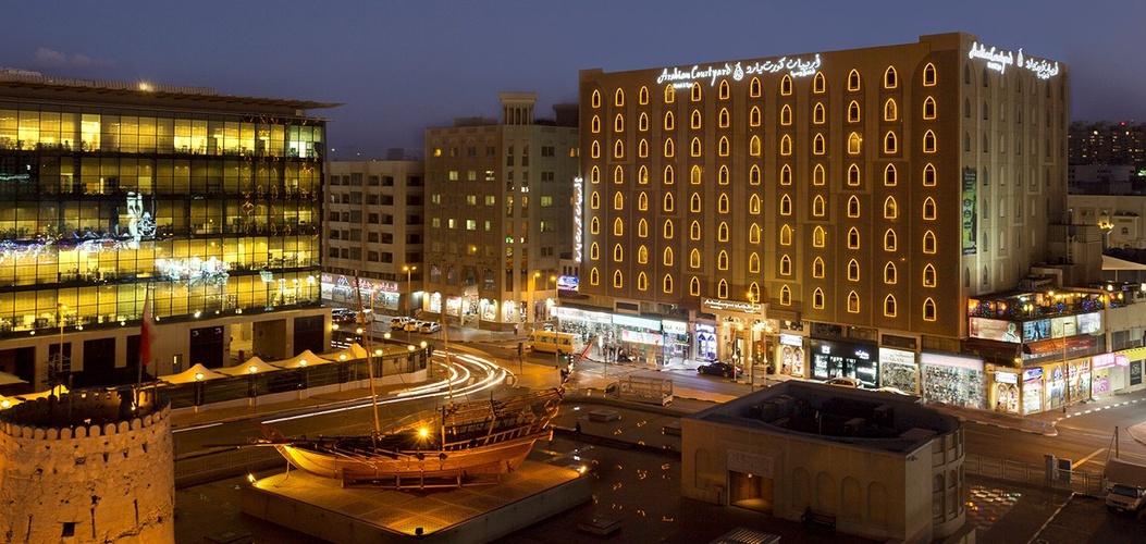 Façade arabian courtyard hotel & spa bur dubaï